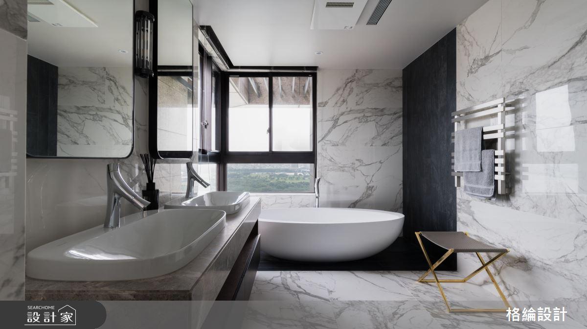65坪_現代風浴室案例圖片_格綸設計 Guru Interior Design Consultant_格綸_24之15