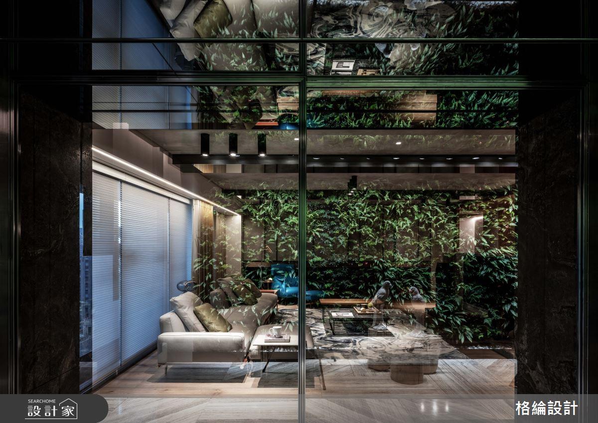 70坪_現代風客廳案例圖片_格綸設計 Guru Interior Design Consultant_格綸_25之2