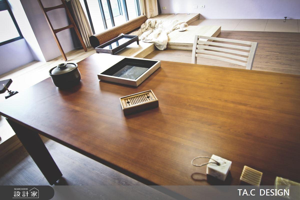 25坪新成屋(5年以下)_混搭風餐廳工作區案例圖片_太工創作設計_太工_01之5