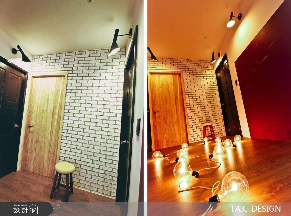 25坪新成屋(5年以下)_混搭風玄關案例圖片_太工創作設計_太工_01之16