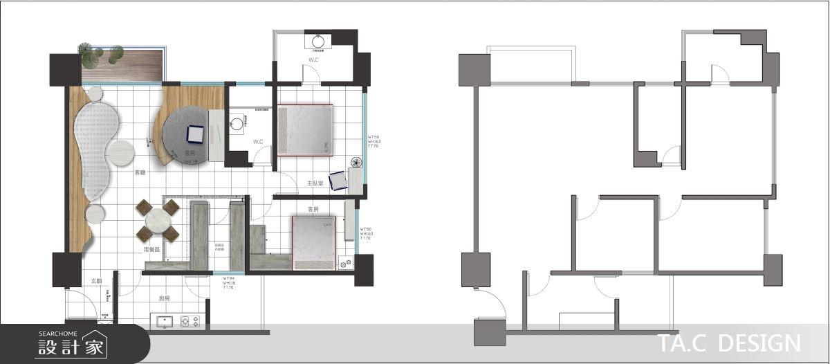 20坪新成屋(5年以下)_鄉村風案例圖片_太工創作設計_太工_05之4
