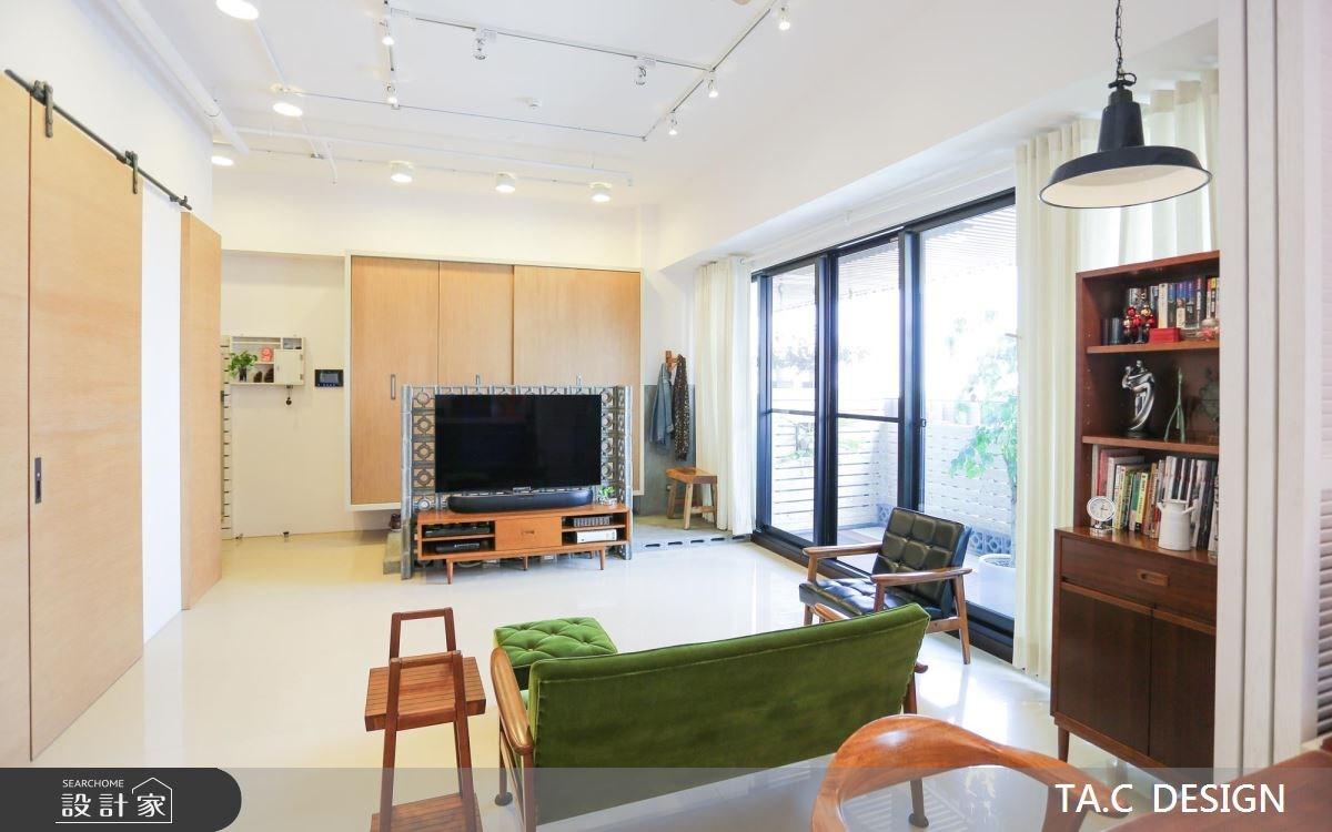 26坪新成屋(5年以下)_北歐風客廳案例圖片_太工創作設計_太工_07之2