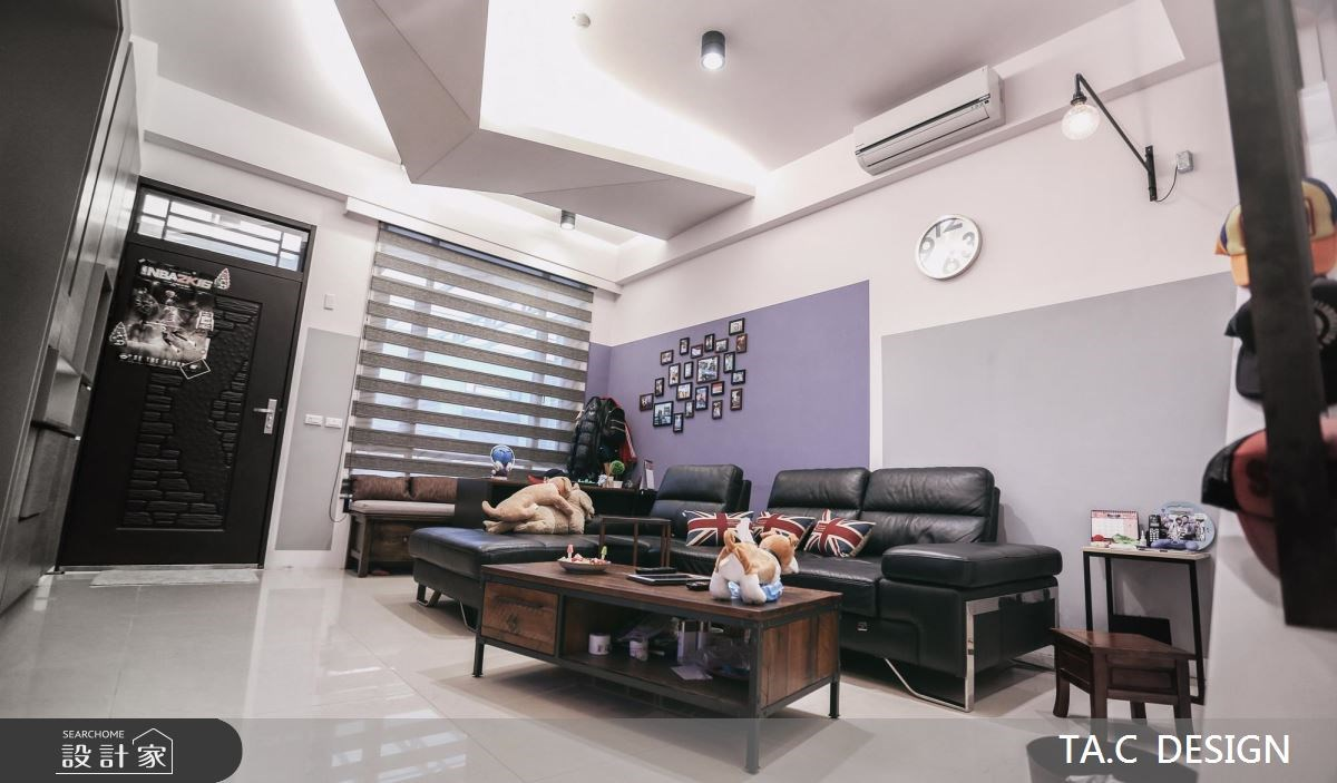 42坪新成屋(5年以下)_現代風玄關客廳案例圖片_太工創作設計_太工_11之1