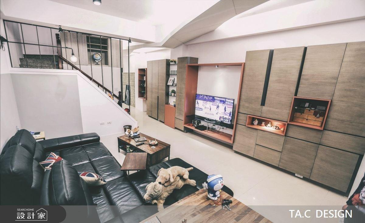 42坪新成屋(5年以下)_現代風客廳案例圖片_太工創作設計_太工_11之2