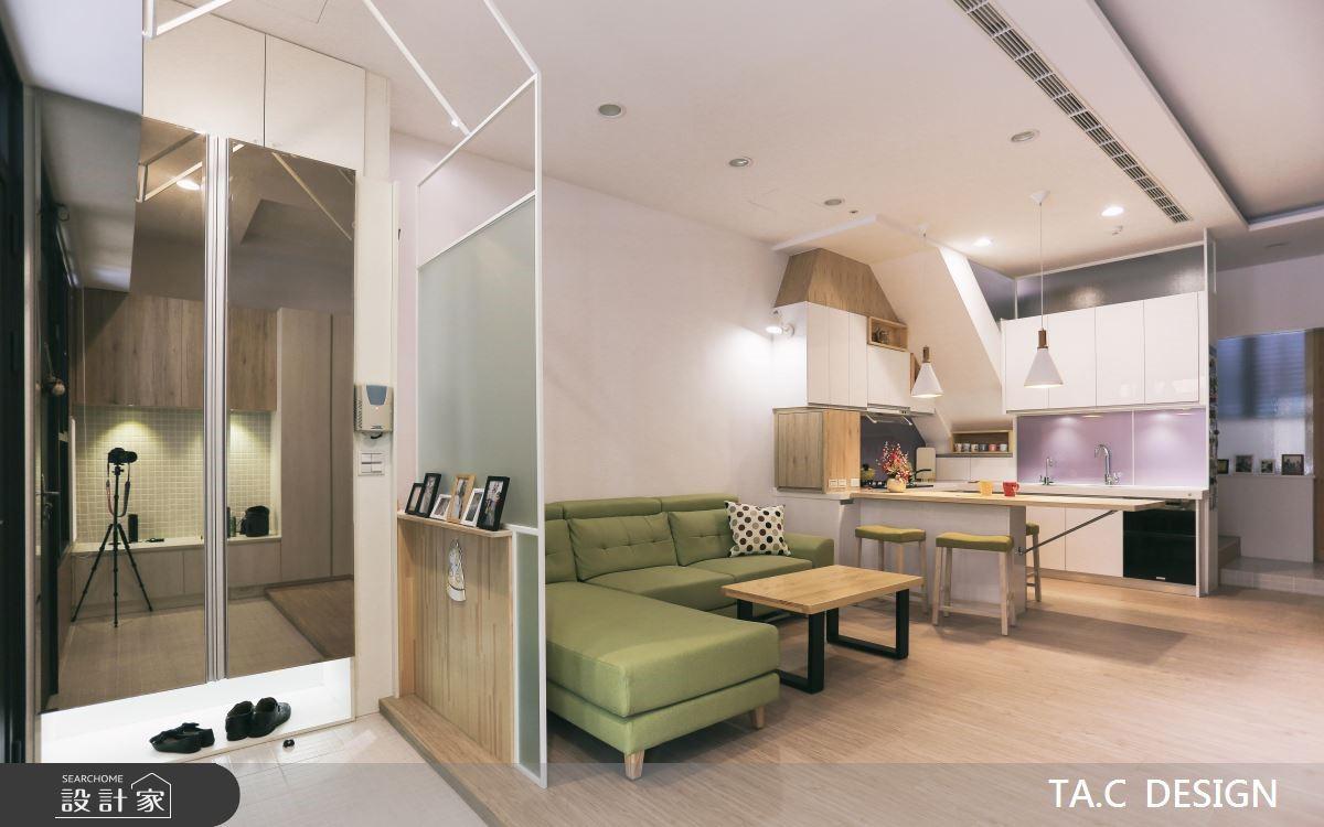 43坪老屋(16~30年)_北歐風玄關客廳餐廳廚房案例圖片_太工創作設計_太工_19之1