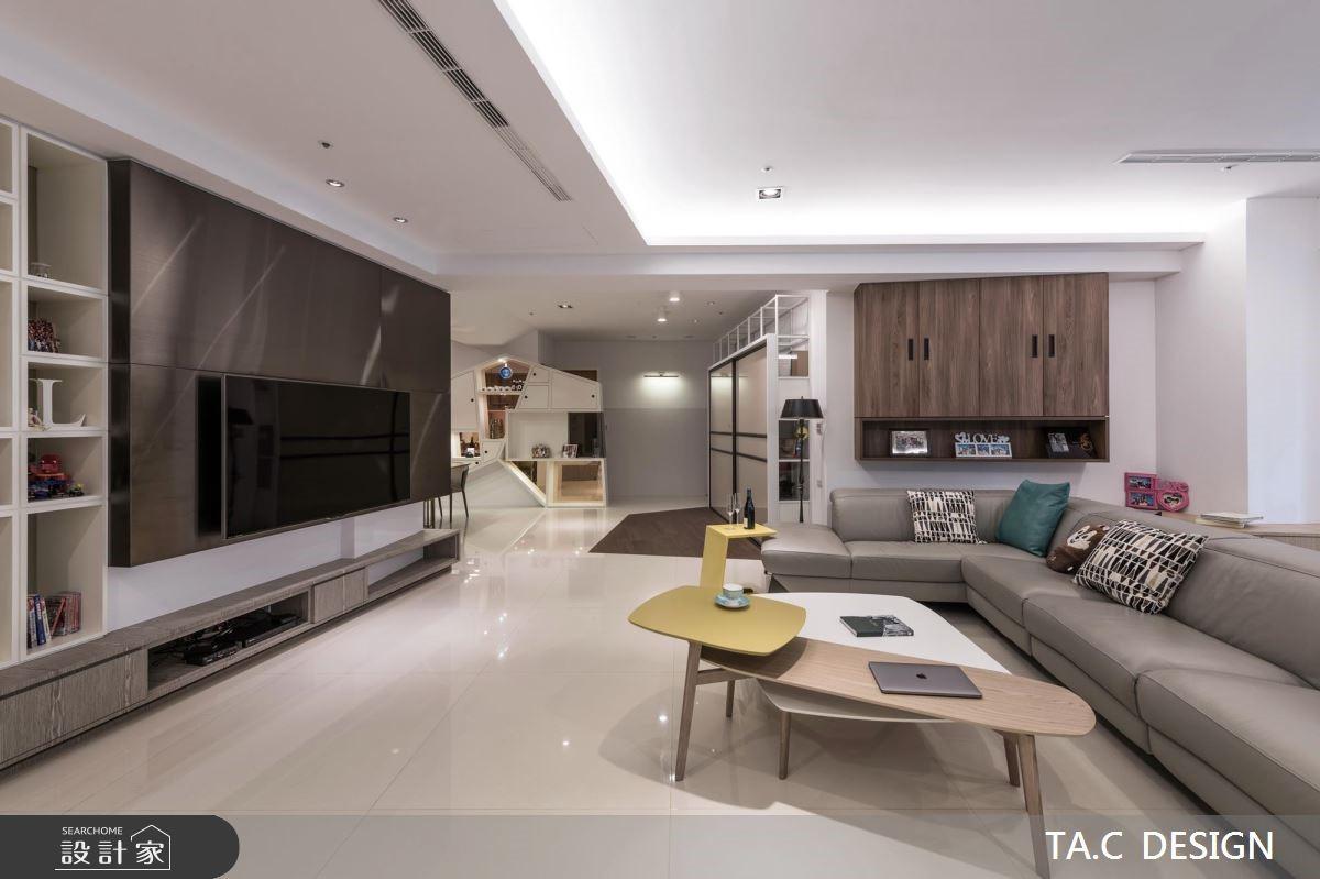 45坪新成屋(5年以下)_現代風客廳案例圖片_太工創作設計_太工_22之3