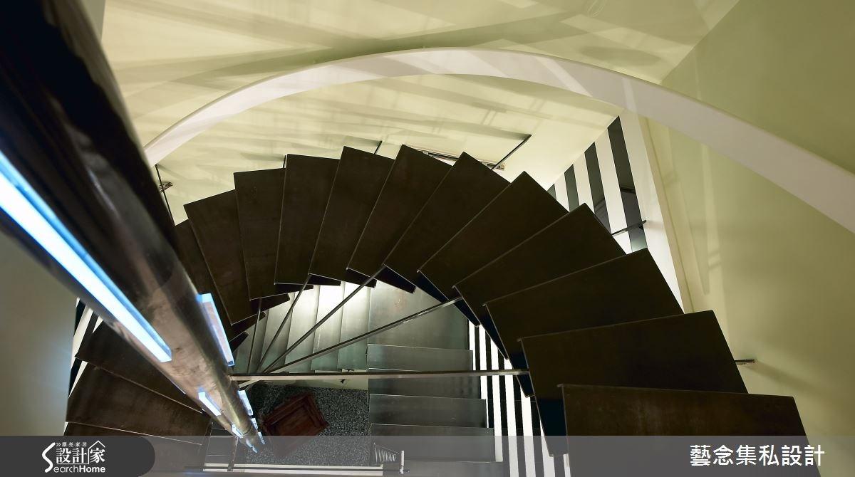 160坪老屋(16~30年)_現代風樓梯案例圖片_藝念集私空間設計_藝念集私_19之9
