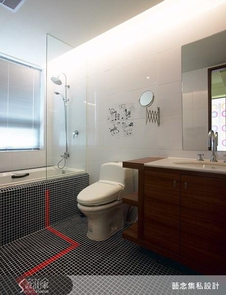 140坪新成屋(5年以下)_現代風浴室案例圖片_藝念集私空間設計_藝念集私_20之12