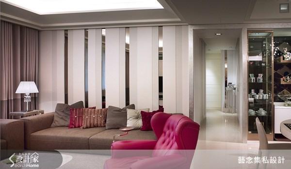 90坪新成屋(5年以下)_混搭風客廳案例圖片_藝念集私空間設計_藝念集私_25之3