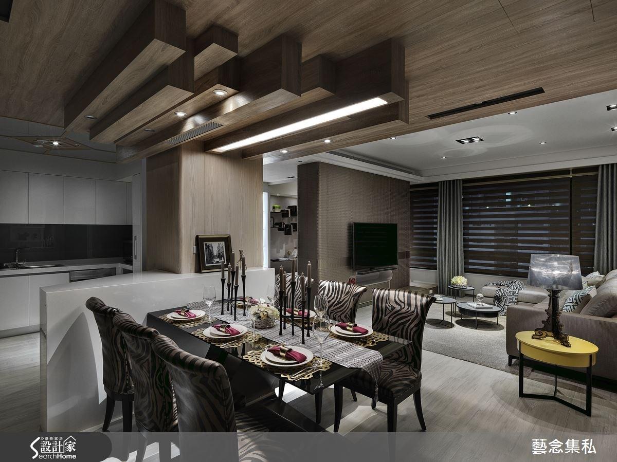 65坪新成屋(5年以下)_混搭風餐廳案例圖片_藝念集私空間設計_藝念集私_33之3