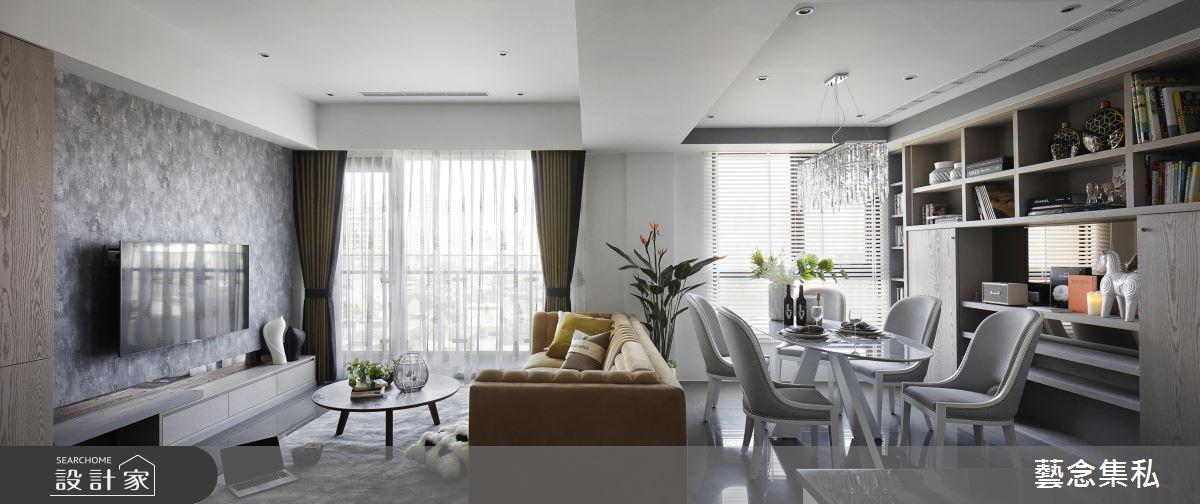 深具自信與優雅的色彩搭配,重視細節實現屋主特質的風華宅邸