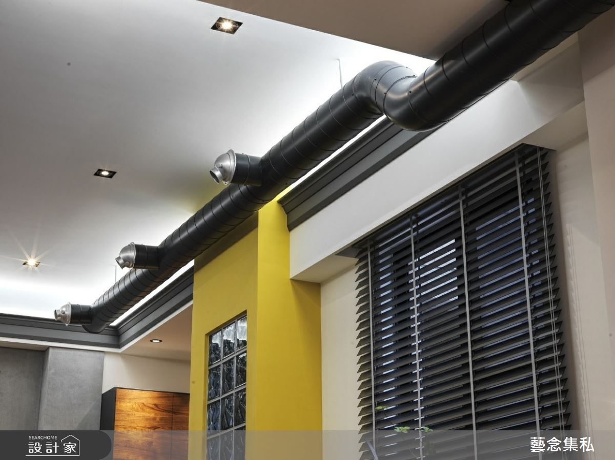 129坪新成屋(5年以下)_混搭風客廳案例圖片_藝念集私空間設計_藝念集私_46之5
