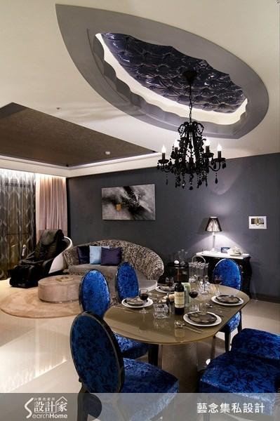 37坪新成屋(5年以下)_混搭風餐廳案例圖片_藝念集私空間設計_藝念集私_12之2