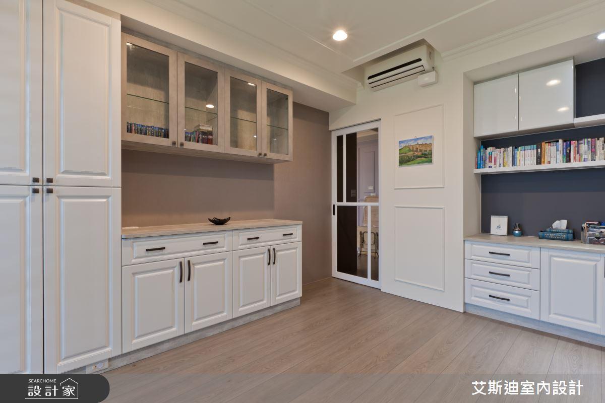 53坪新成屋(5年以下)_鄉村風書房案例圖片_艾斯迪室內設計_艾斯迪_04之18