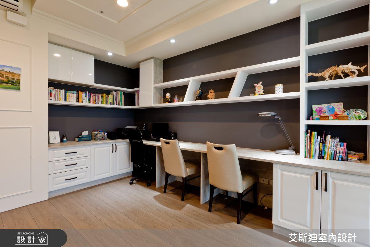 53坪新成屋(5年以下)_鄉村風書房案例圖片_艾斯迪室內設計_艾斯迪_04之19