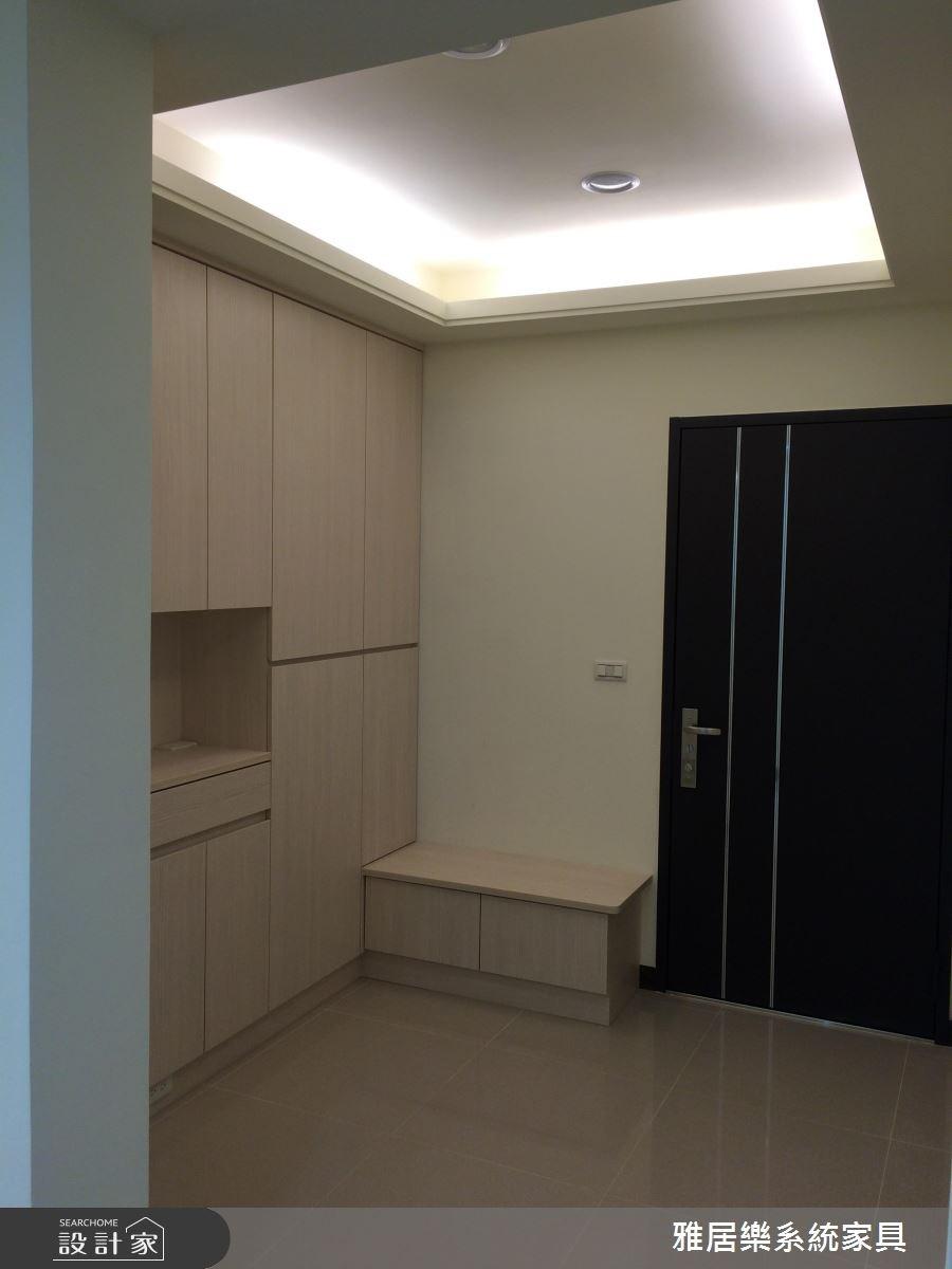 35坪老屋(16~30年)_北歐風玄關案例圖片_雅居樂系統室內設計_雅居樂_01之2
