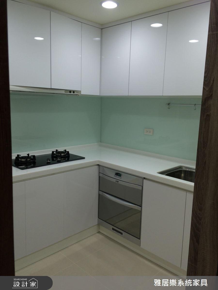 35坪老屋(16~30年)_北歐風廚房案例圖片_雅居樂系統室內設計_雅居樂_01之4