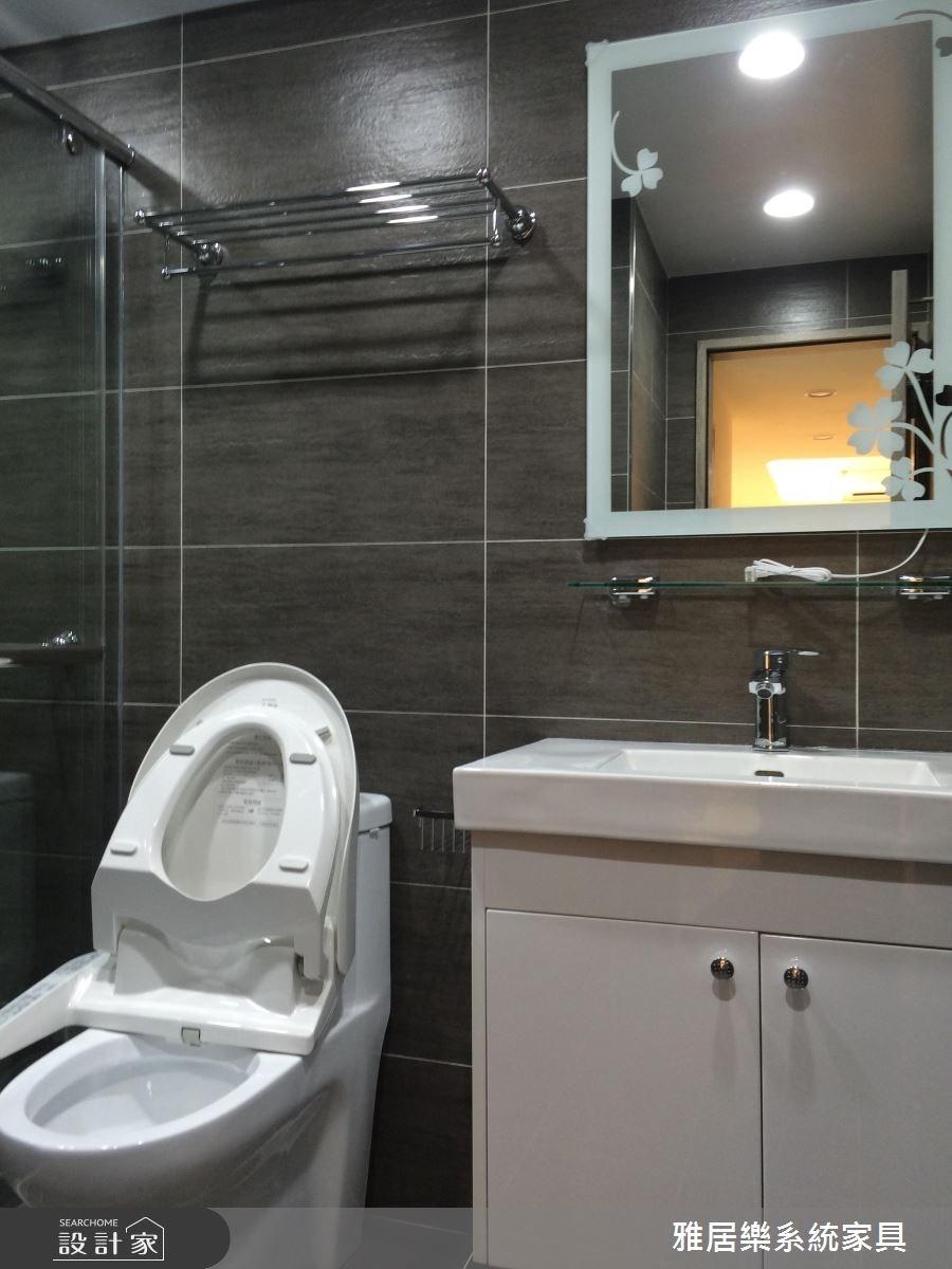 35坪老屋(16~30年)_北歐風浴室案例圖片_雅居樂系統室內設計_雅居樂_01之10