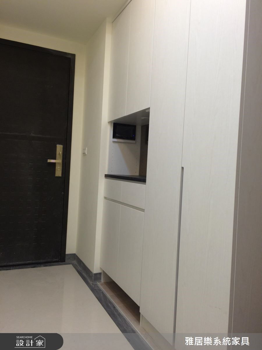 35坪新成屋(5年以下)_混搭風玄關案例圖片_雅居樂系統室內設計_雅居樂_02之1