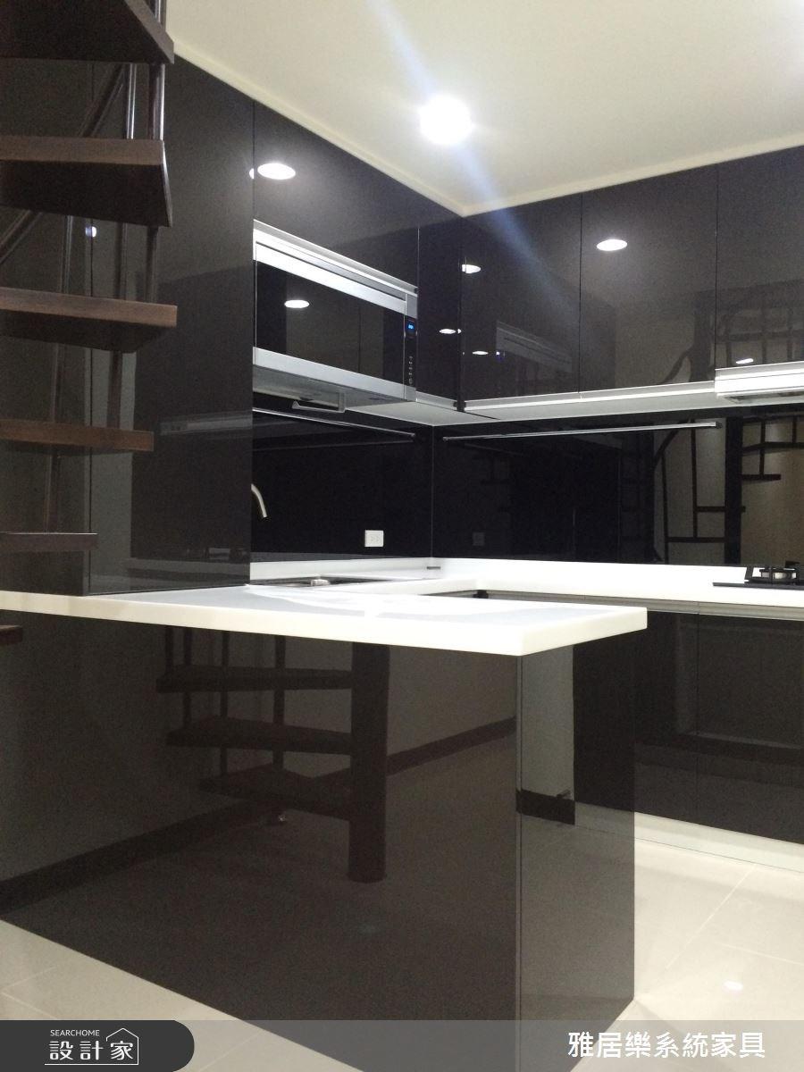 38坪老屋(16~30年)_簡約風廚房案例圖片_雅居樂系統室內設計_雅居樂_03之3