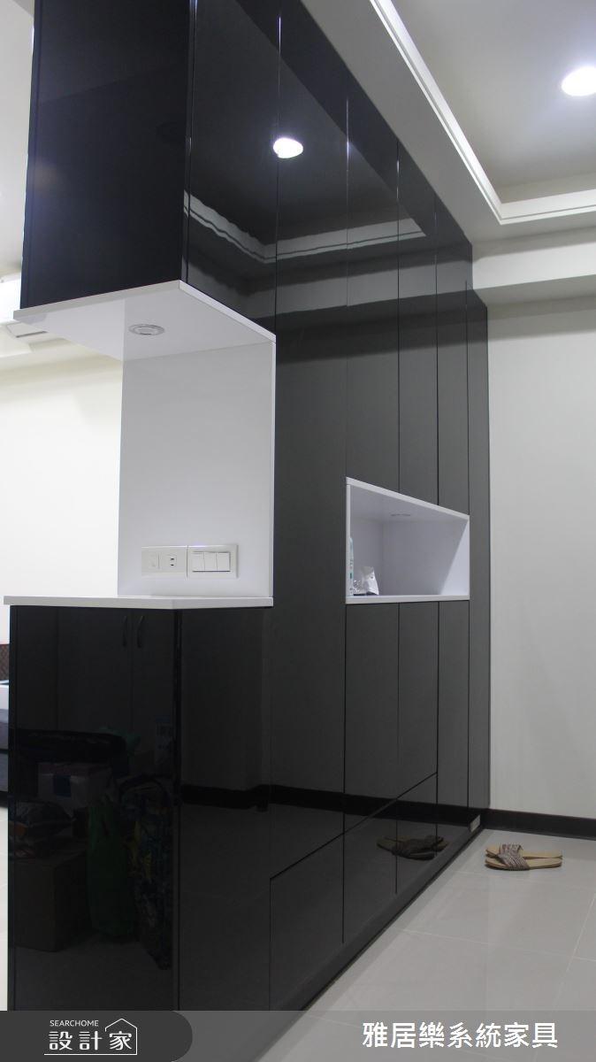 18坪老屋(16~30年)_現代風玄關案例圖片_雅居樂系統室內設計_雅居樂_04之2