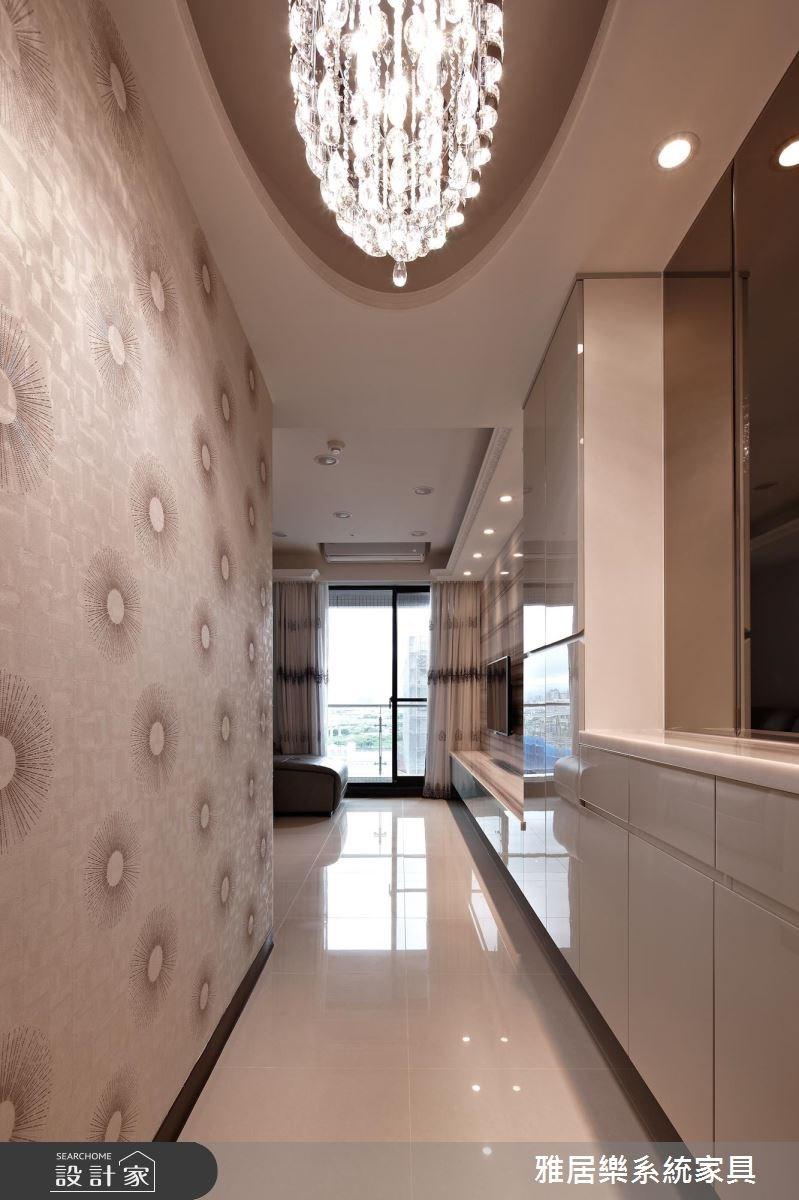 25坪新成屋(5年以下)_混搭風玄關案例圖片_雅居樂系統室內設計_雅居樂_05之1