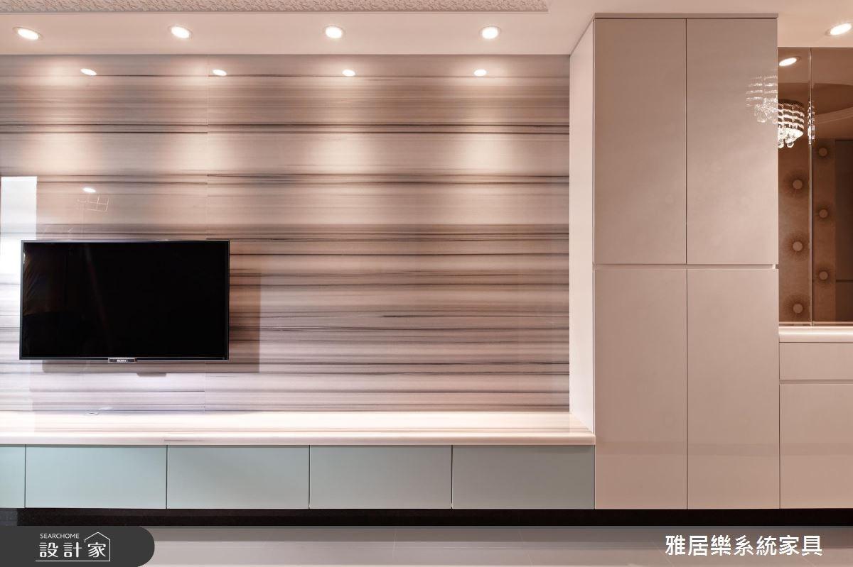25坪新成屋(5年以下)_混搭風客廳案例圖片_雅居樂系統室內設計_雅居樂_05之2