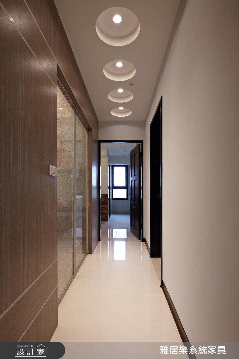 25坪新成屋(5年以下)_混搭風走廊案例圖片_雅居樂系統室內設計_雅居樂_05之4