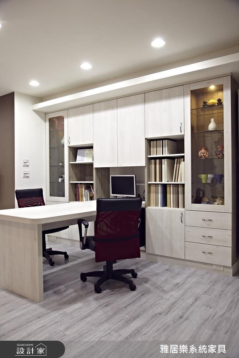 20坪_混搭風書房工作區案例圖片_雅居樂系統室內設計_雅居樂_07之6