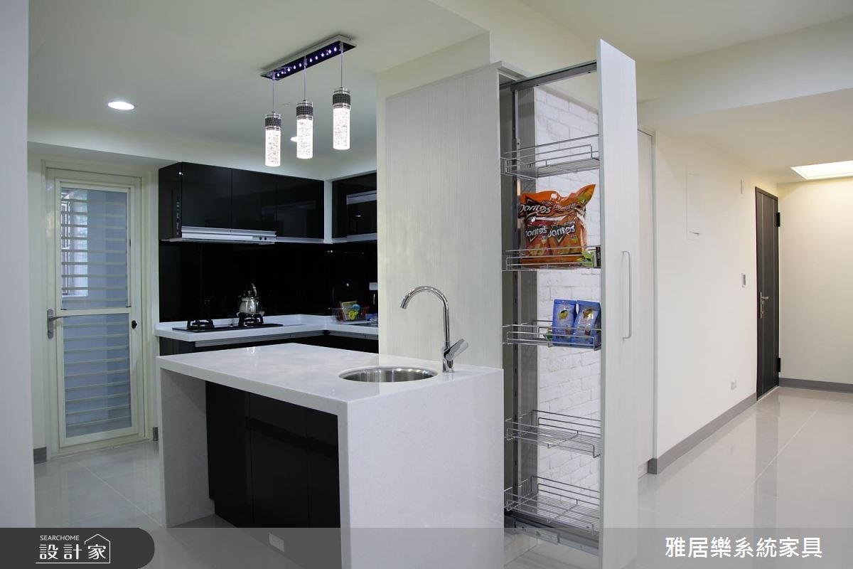 35坪老屋(16~30年)_混搭風廚房案例圖片_雅居樂系統室內設計_雅居樂_08之4