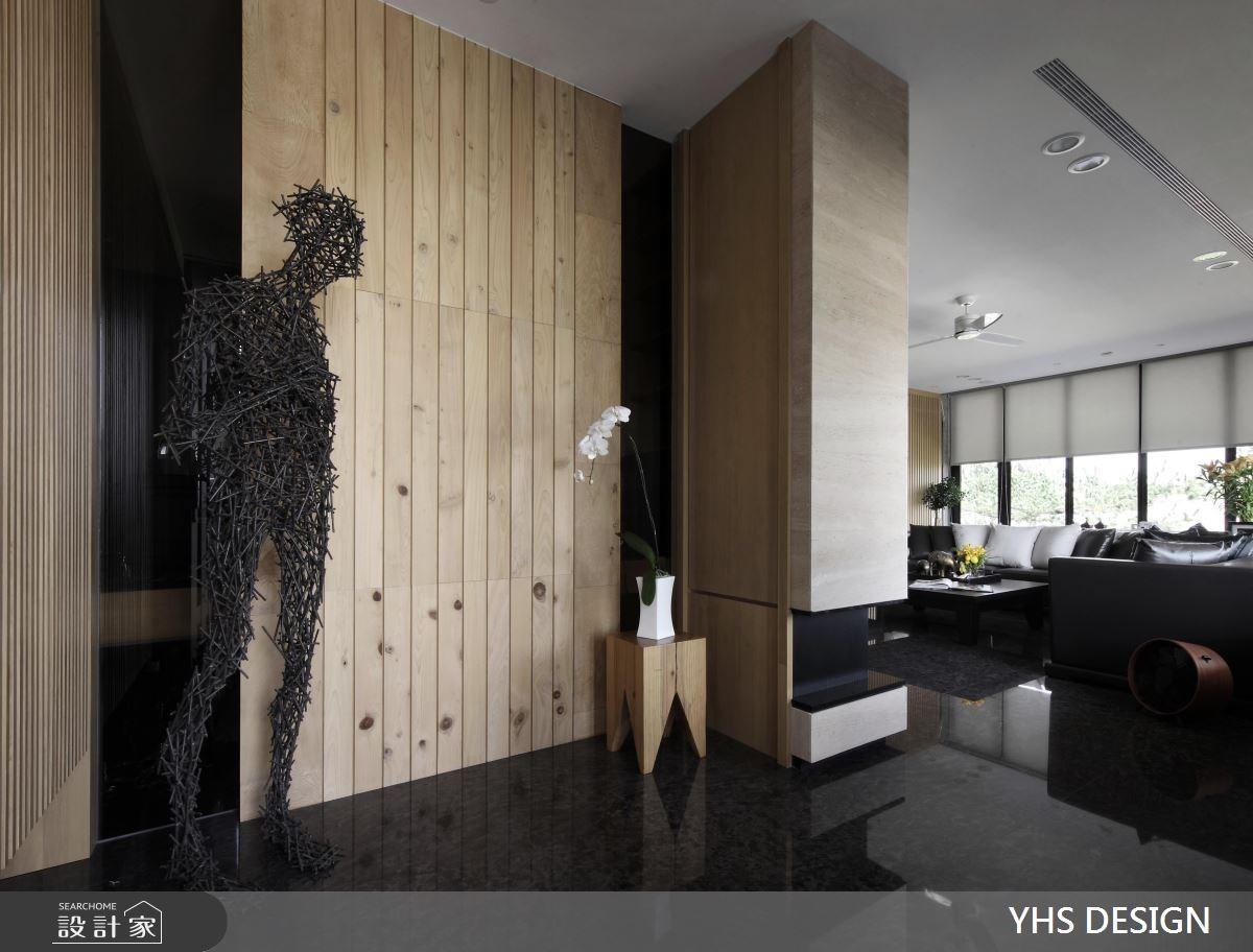 429坪新成屋(5年以下)_現代風玄關客廳案例圖片_YHS DESIGN設計事業_YHS_半山建築之1