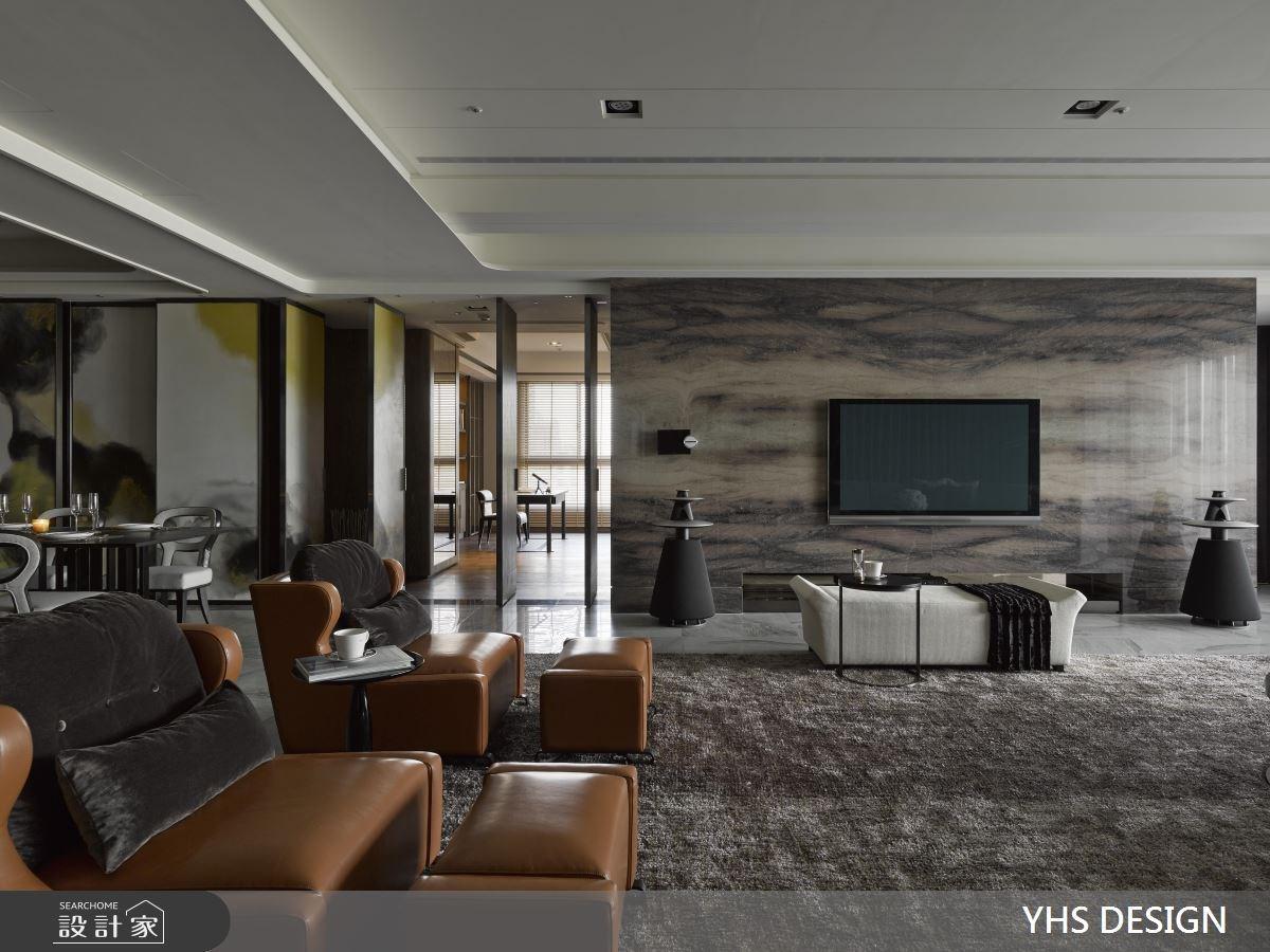 100坪新成屋(5年以下)_奢華風客廳案例圖片_YHS DESIGN設計事業_YHS_賦采之2