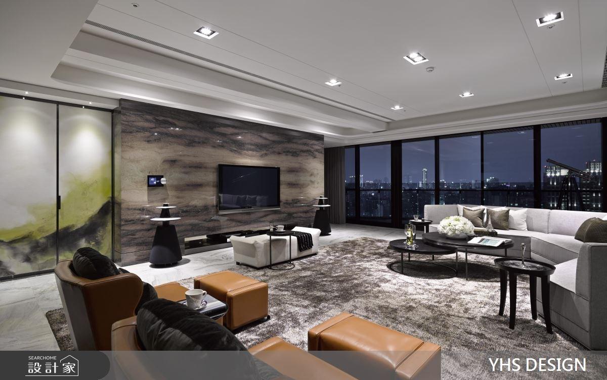 100坪新成屋(5年以下)_奢華風客廳案例圖片_YHS DESIGN設計事業_YHS_賦采之4