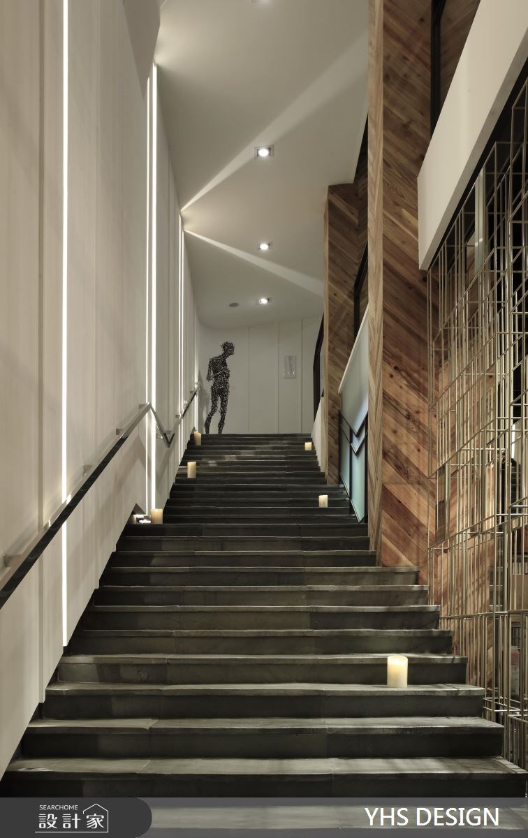 252坪新成屋(5年以下)_現代風樓梯案例圖片_YHS DESIGN設計事業_YHS_響海之5