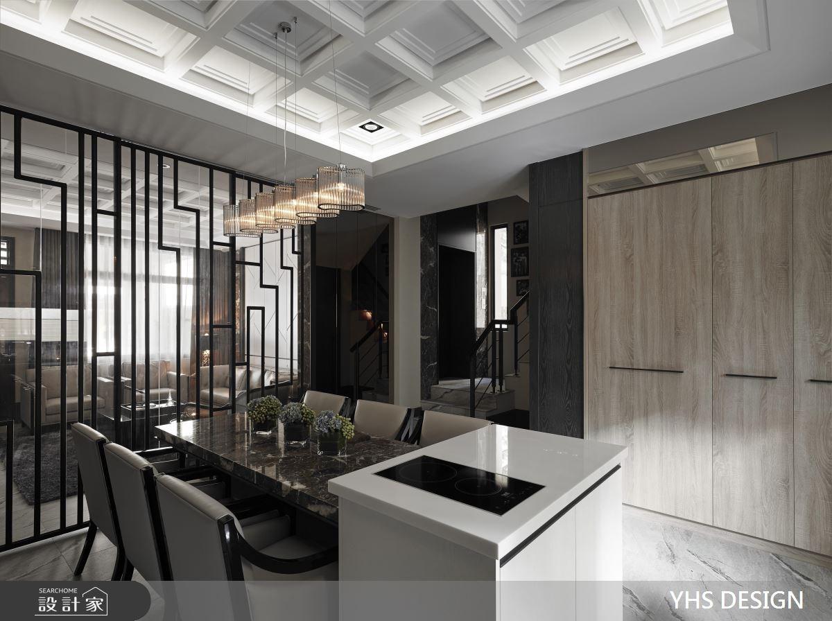 75坪_奢華風餐廳案例圖片_YHS DESIGN設計事業_YHS_熙境之4