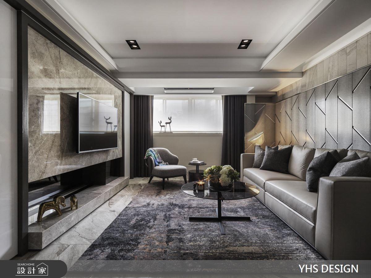 28坪老屋(16~30年)_奢華風客廳案例圖片_YHS DESIGN設計事業_YHS_世青禮蘭之1