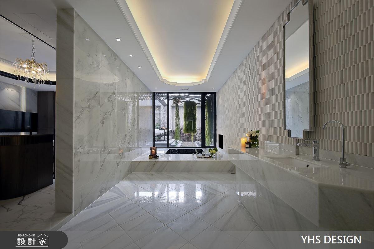 50坪_奢華風浴室案例圖片_YHS DESIGN設計事業_YHS_澹美之14