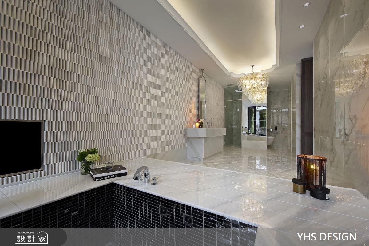 50坪_奢華風浴室案例圖片_YHS DESIGN設計事業_YHS_澹美之15