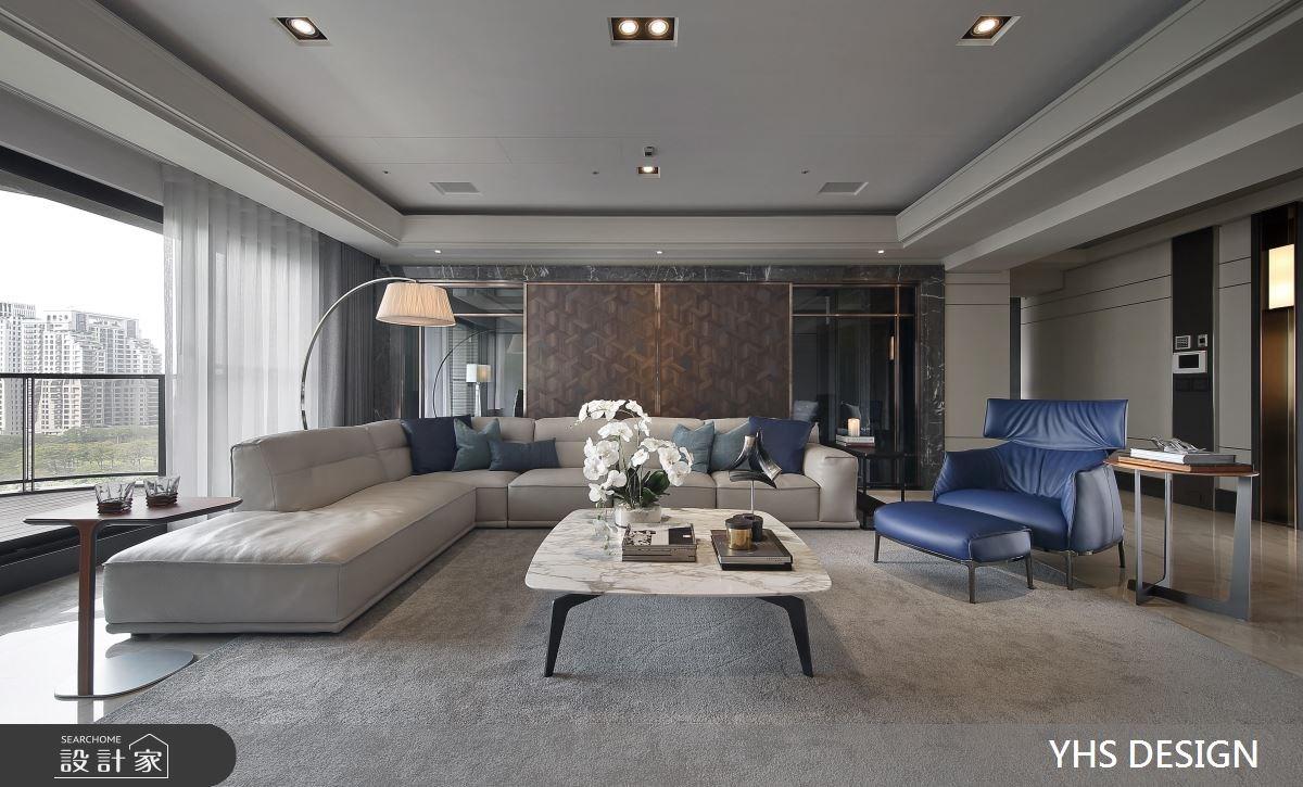 148坪新成屋(5年以下)_現代風客廳案例圖片_YHS DESIGN設計事業_YHS_森鑄之3