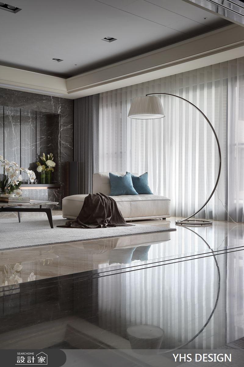 148坪新成屋(5年以下)_現代風客廳案例圖片_YHS DESIGN設計事業_YHS_森鑄之5
