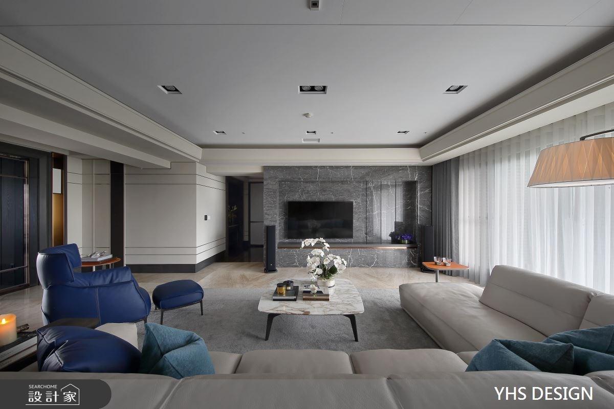 148坪新成屋(5年以下)_現代風客廳案例圖片_YHS DESIGN設計事業_YHS_森鑄之6