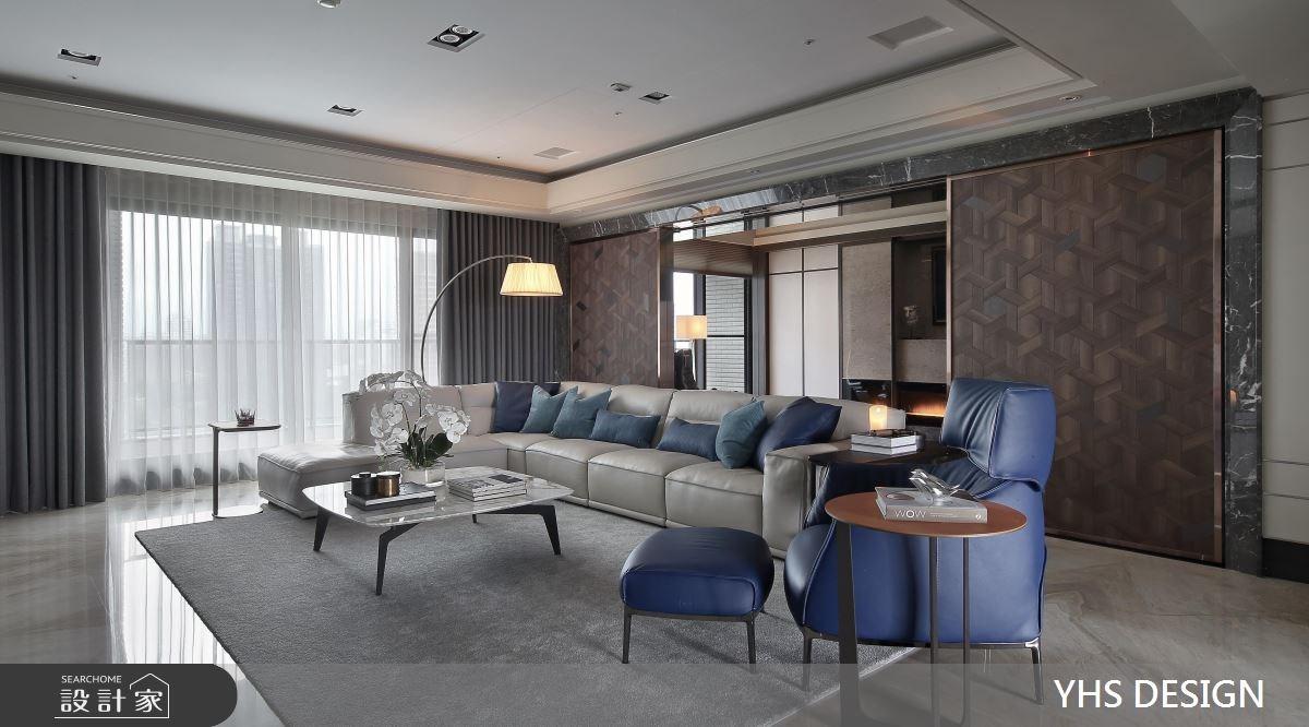 148坪新成屋(5年以下)_現代風客廳案例圖片_YHS DESIGN設計事業_YHS_森鑄之7