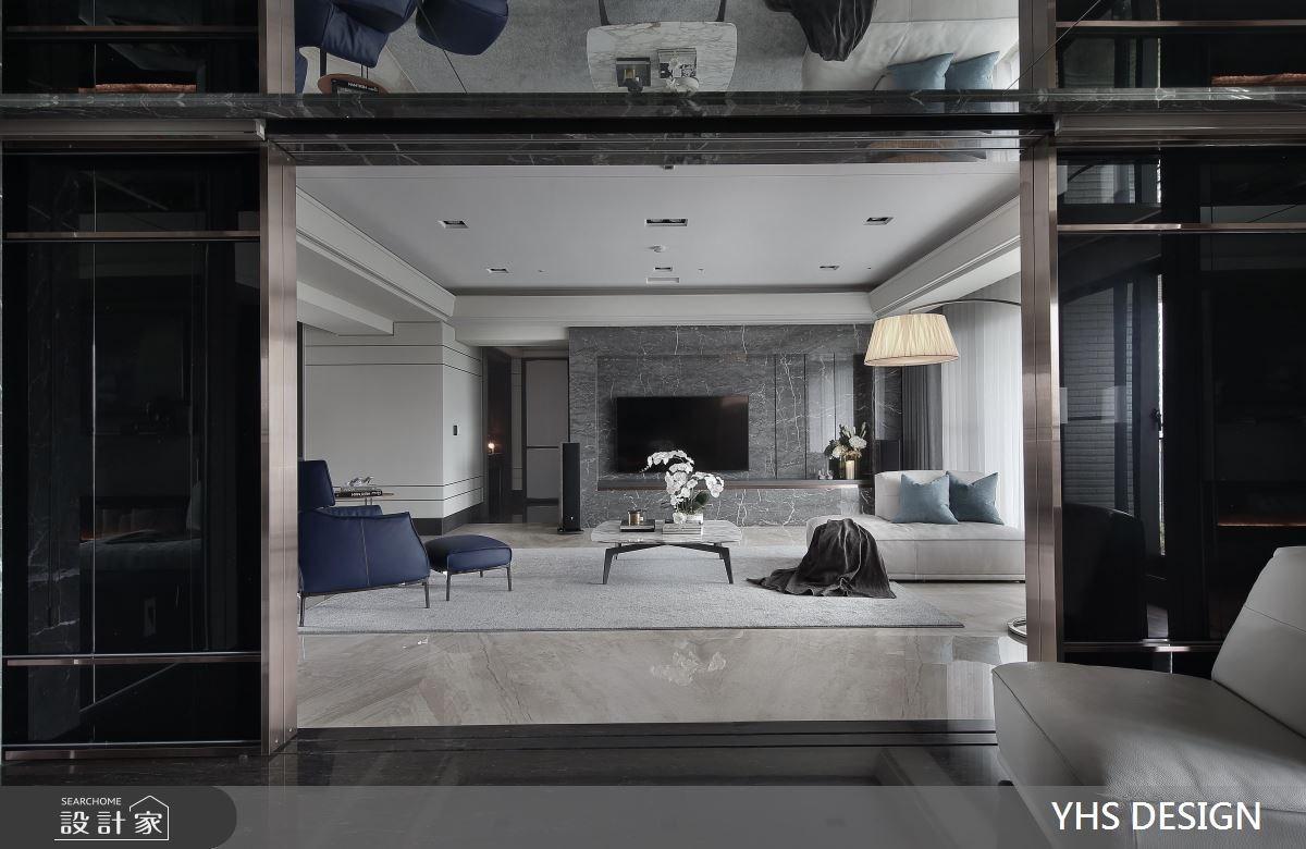 148坪新成屋(5年以下)_現代風客廳案例圖片_YHS DESIGN設計事業_YHS_森鑄之9