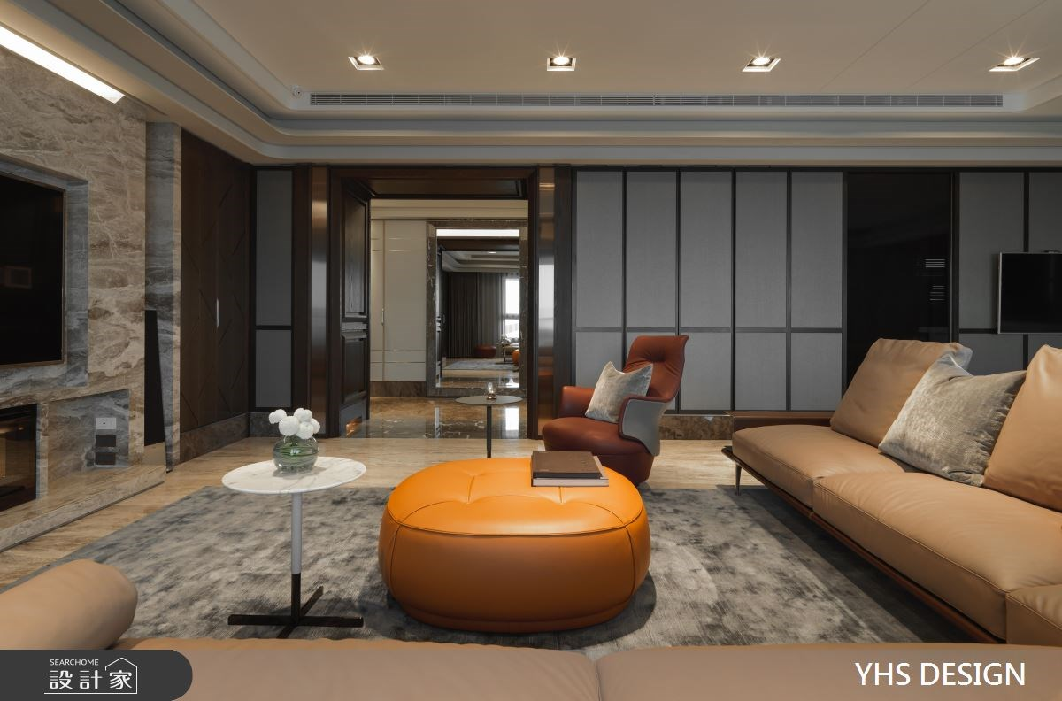 240坪_奢華風客廳案例圖片_YHS DESIGN設計事業_YHS_松疆之4