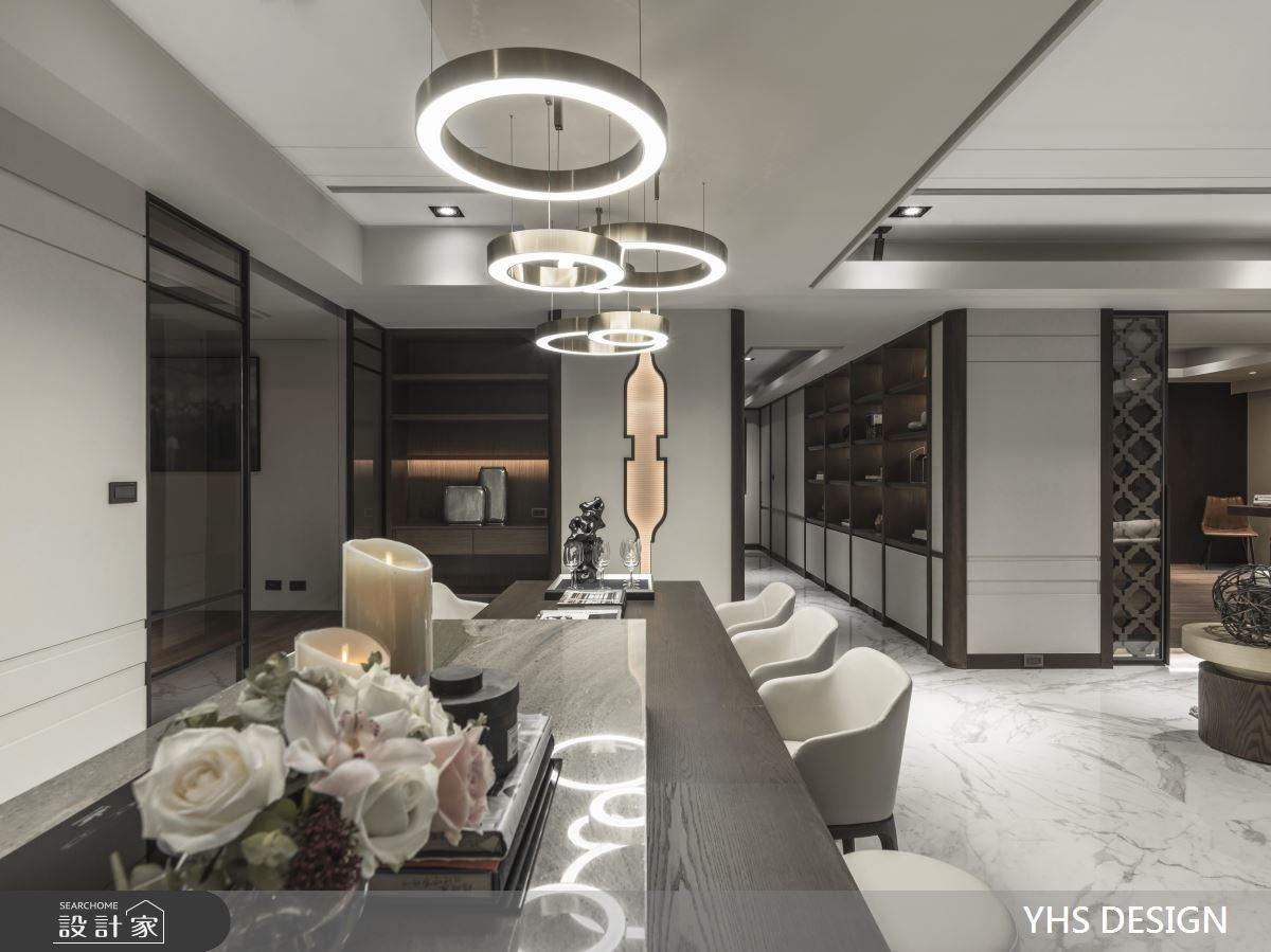 64坪新成屋(5年以下)_新中式風餐廳案例圖片_YHS DESIGN設計事業_YHS_天青之9