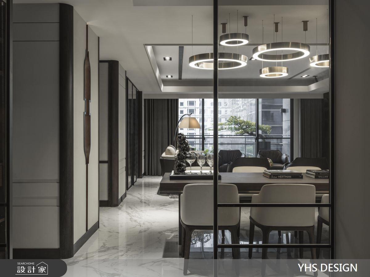 64坪新成屋(5年以下)_新中式風餐廳案例圖片_YHS DESIGN設計事業_YHS_天青之11