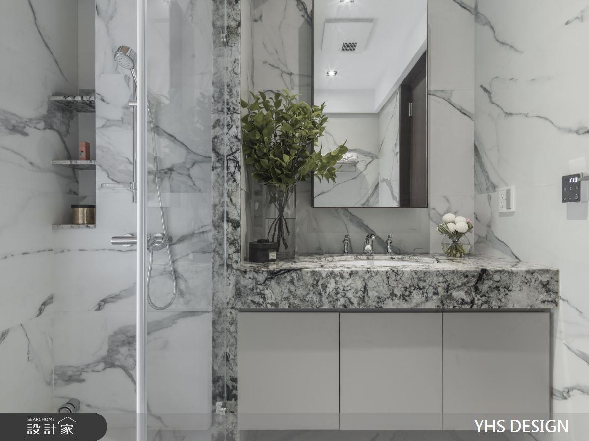 64坪新成屋(5年以下)_新中式風浴室案例圖片_YHS DESIGN設計事業_YHS_天青之13