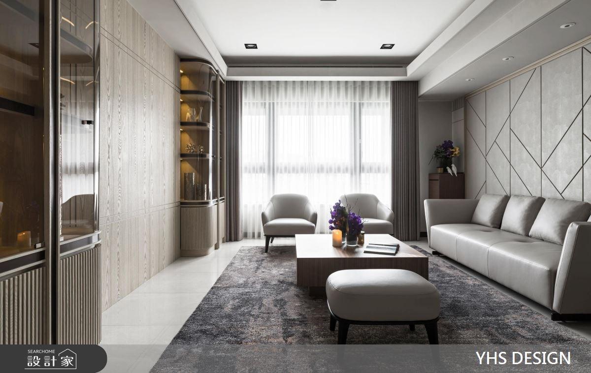 31坪新成屋(5年以下)_新古典客廳案例圖片_YHS DESIGN設計事業_YHS_筑丰之2