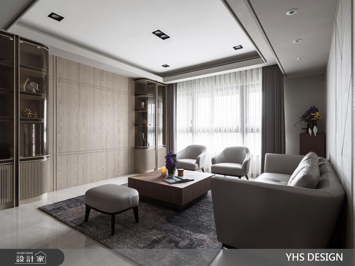 31坪新成屋(5年以下)_新古典客廳案例圖片_YHS DESIGN設計事業_YHS_筑丰之3