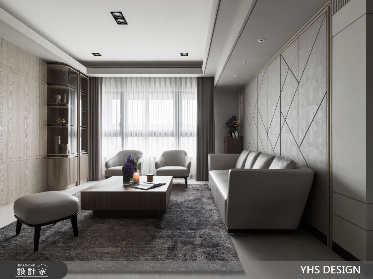 31坪新成屋(5年以下)_新古典客廳案例圖片_YHS DESIGN設計事業_YHS_筑丰之4